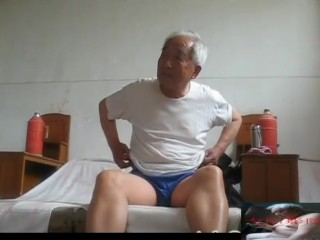China Elderly Grandpa Akin Nudes With An Increment Of Peni